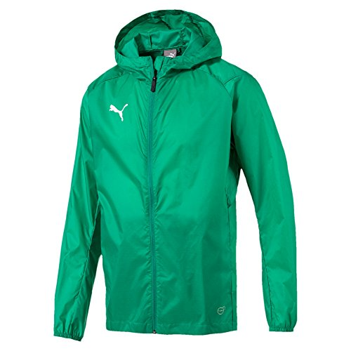 PUMA Herren Liga Core Training Rain Jacket, Pepper Green White, L