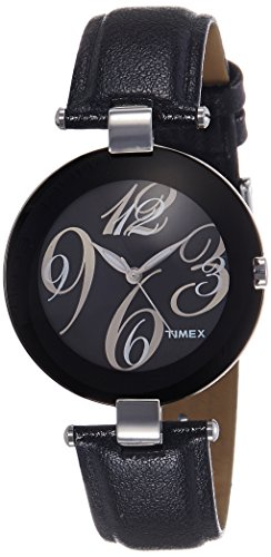 Timex Fashion Analog Black Dial Women's Watch - J400 image