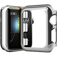 Hülle 38mm/42mm für Apple Watch, Sasairy Schutzhülle Tasche Case Kompletter Schutz für Apple Watch Series 1