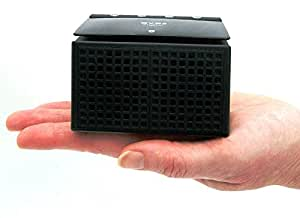 CRYSTAL Bluetooth Stereo Speaker with Up To 6hrs Play Time in Black