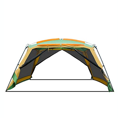 WYDML Zelt Camping 8-10 Person Backpacking Zelt, wasserdicht Raumschiff 4 Season All Weather Zelt, 20d Silikon Coated Great Choice for Camping Wanderfischen Beach Outdoor Festival Picknick (Raumschiff Zelte)