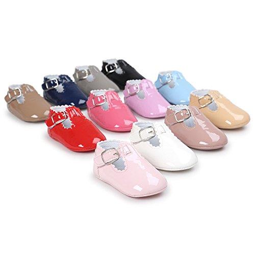 Zapatos Bebé niña  Amlaiworld Bebé cuero princesa suave suela zapatos niña zapatillas zapatos casuales 0 18 Mes