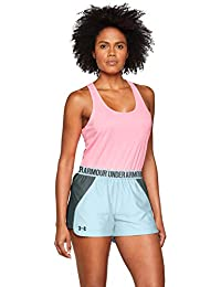 567ac9574 Under Armour Women's Play Up Short 2.0 Running Shorts for Women Breathable  and Soft Ladies Gym
