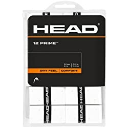 Head Over Grip Prime de 12unidades, color blanco, One size, 285485