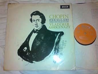 Chopin four Ballades trois Nouvelles Etudes - Vladimir Ashkenazy - LXT 6143 MONO