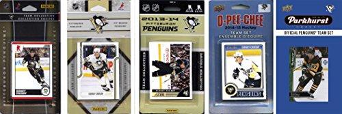 C & I Collectables NHL Pittsburgh Penguins Herren 's 5Verschiedene lizenzierte Trading Card Team-Sets, Weiß