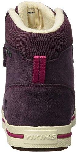 Viking Unisex-Kinder Eagle Iii High-Top Violett (Aubergine/Fuchsia 8317)