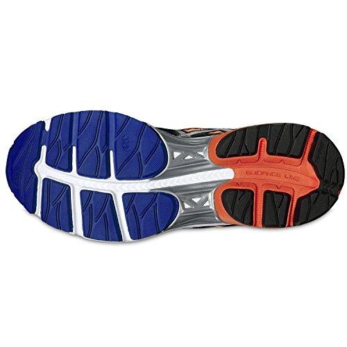 Uomo Asics Kumo Arancio Argento 6 Caldo Blu Blu Scarpe Argento T618n Nero Gel Ai17 rt56tq