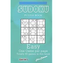 Sudoku Puzzle - Easy - Vol 1 - My Favorite Puzzle Book: Volume 10 (My Favorite Puzzle Book - Sudoku)