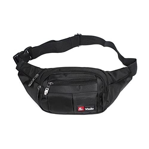 41oTVXPWL4L. SS500  - Toudorp Fanny Pack 4 Pockets Waist / Bum Bag 26 - 44 inches Adjustable Belt for Men and Women Running, Cycling and Fishing