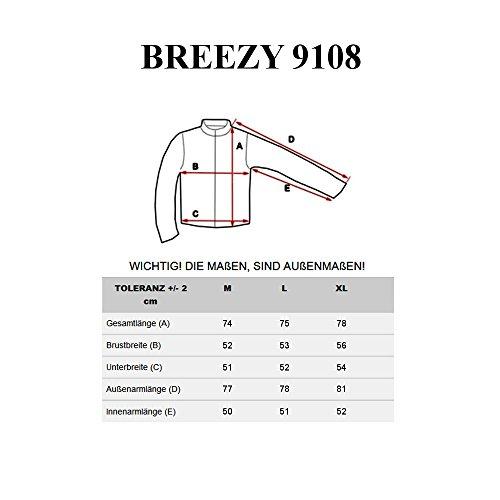 BOLF - Felpa - Pullover - Manica lunga - Maglione - Classic - Motivo - 1A1 Verde