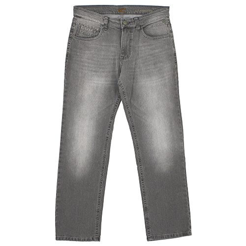 camel active, Woodstock, Herren Jeans Hose, Stretchdenim, Grey Used, W 32 L 30 [20644]