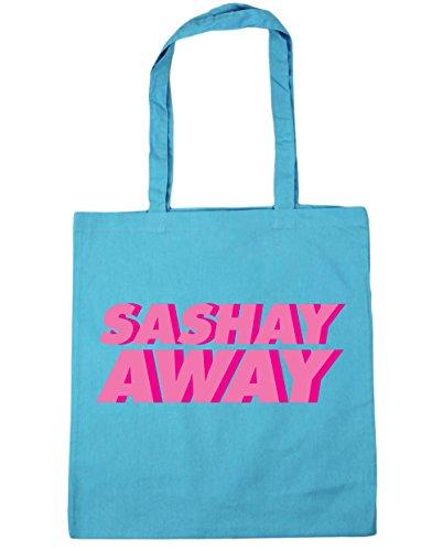 hippowarehouse-sashay-away-andar-pavonendose-bolso-de-playa-bolsa-compra-con-asas-para-gimnasio-42cm