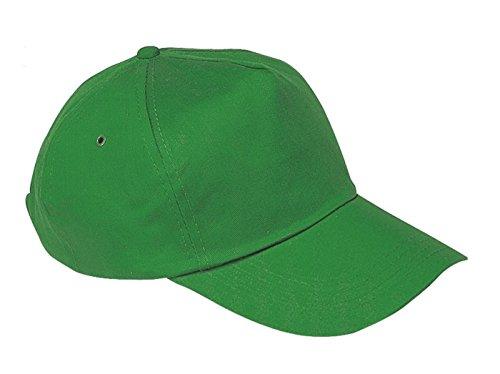 Unisex Jungen Mädchen Mütze Baseball Cap Hut Kinder Kappe Morefaz TM (Grün)