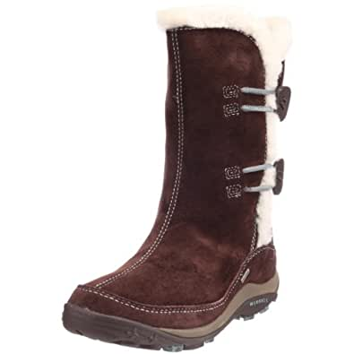 Merrell Yarra Waterproof, Women's Boots Brown Size: 4.5