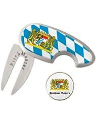 Golf & More Pitchgabel & Marker in Bayernlook, Bavarian Golf