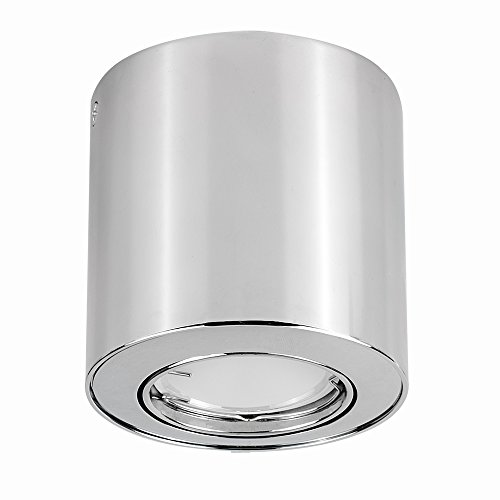2 Pack 6000K, 12W Blackshell 6000K Dimmable Led Surface Mounted Downlights Ideal for Hallway Corridor Gallery Kitchen and Living Room 12W Led Ceiling Spot Lights