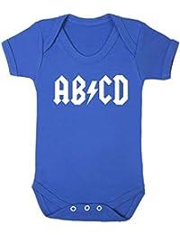 AB/CD Baby Vest.