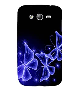printtech Butterfly Starry Sparkling Back Case Cover for Samsung Galaxy Grand Neo Plus::Samsung Galaxy Grand Neo Plus i9060i