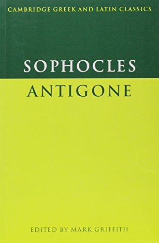 Sophocles: Antigone Paperback (Cambridge Greek and Latin Classics)