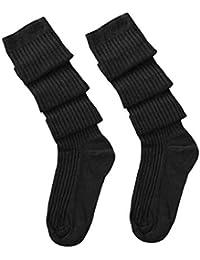 SHOBDW Mujeres Niñas Sólido Muslo Alto Sobre la Rodilla Calcetines Calcetines largos de moda Calcetines de