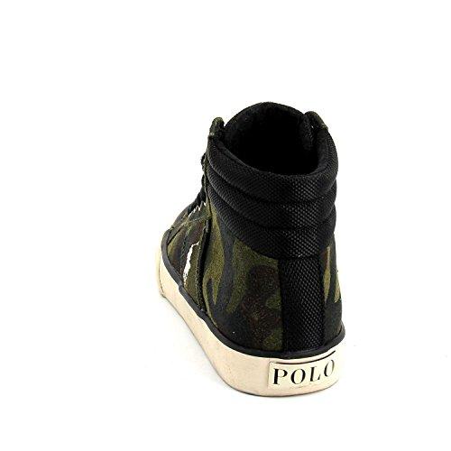 Polo Ralph Lauren Jungen Sneaker BAWTRY II Leder Mehrfarbig