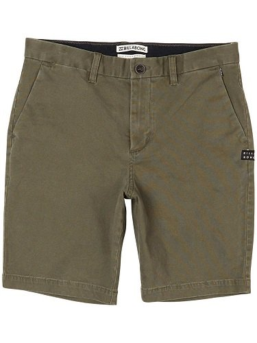 G.S.M. Europe - Billabong Herren New Order Hose, Military, 32 -
