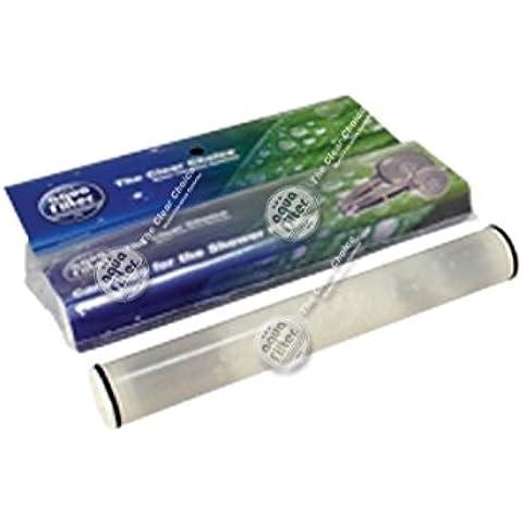 Juego de dos unidades de cartuchos de repuesto con KDF - para filtro de ducha F HSH-5-C y FHSH-6-C.
