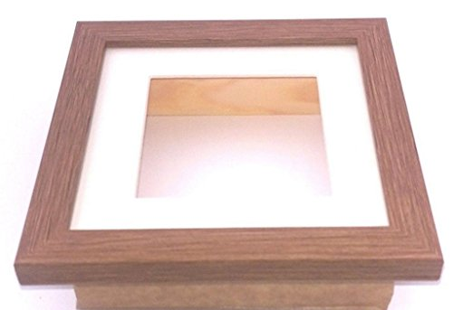 3D-Box Rahmen Display Fall Medaillen Wirft für Frame, Mitte, holz, eiche, A4 x 1