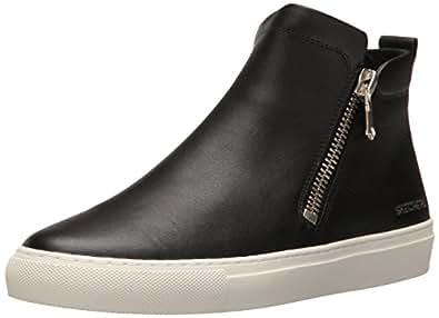 Skechers Women's Vaso-Bota Fashion Sneaker, Black, 6 M US