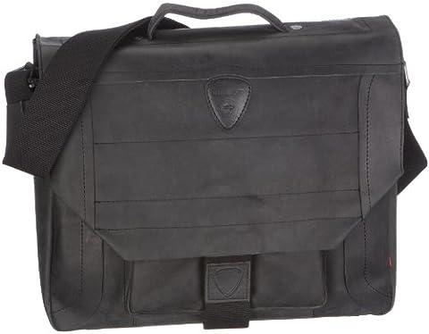 Strellson Hunter BriefBag M 4010000029 Herren Henkeltaschen 40x12x31 cm (B x H x T), Schwarz (black 900)
