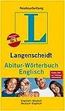Langenscheidt Abitur-Wörterbuch Englisch. Englisch-Deutsch/Deutsch-Englisch