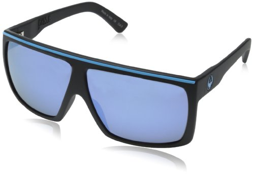 Dragon Herren Sonnenbrille The Fame Matte Black and Blue