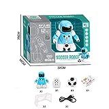 YIHANK juguetes educativos, fútbol, batalla, control remoto inalámbrico, robot inteligente