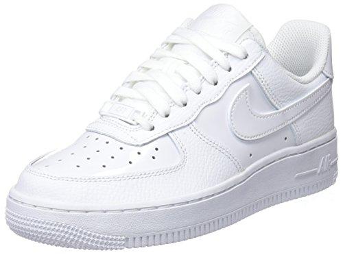 Nike Damen Wmns Air Force 1 '07 Gymnastikschuhe, Elfenbein (WhiteWhite 100), 38 EU Nike Air Force 1 Frauen