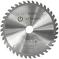 BESTOMZ Discos Circulares de la Rueda de la Cuchilla de Sierra TCT de los Dientes 148x2.2x25.4mm 60 para el Corte plástico