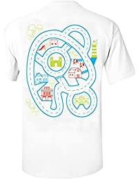 Fathers Day Gift For Dad, father & Son Play-Mat T-shirt Back Massager Car Adventure New Dad Tshirt Birthday Party Present