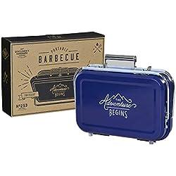 Le matériel de Gentleman Gen253Barbecue Portable, Bleu, 32x 31.5x 40cm