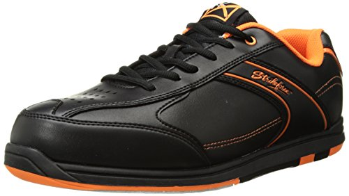 KR Strikeforce m-034-115 Flyer Bowlingschuhe, Schwarz/Orange, Gr. 11,5