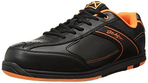 KR Strikeforce m-034-095Flyer Bowlingschuhe, Schwarz/Orange, Größe 9,5