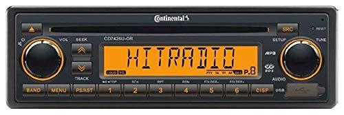 24 Volt LKW Radio RDS-Tuner CD MP3 WMA USB Truck & Bus 24V CD7426U-OR (Volt Radio 24)