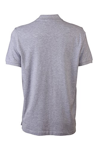 Pierre Cardin Mens Neue Saison klassische Passform Premium Polo T-Shirt aus Baumwolle Grau Marl