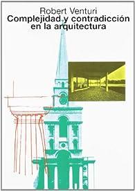 Complejidad y contradicción en la arquitectura par Robert Venturi