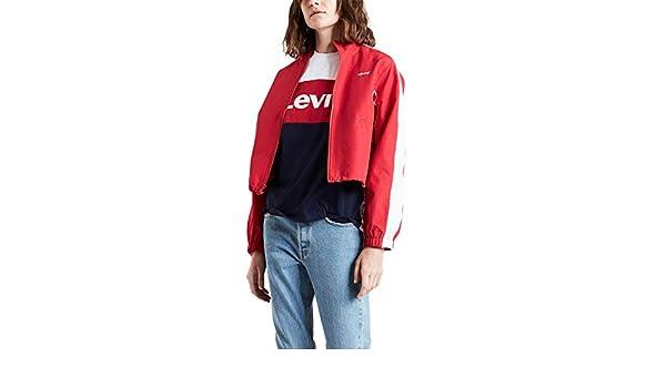 Veste Levis Geri Rouge pour Les Femmes: : Vêtements