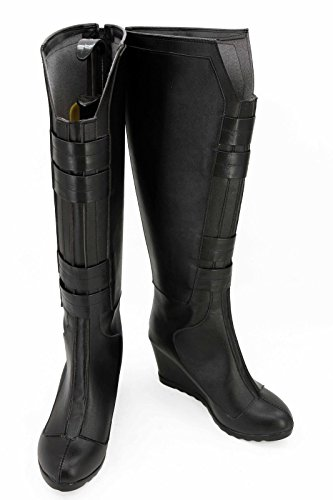 Fuman Black Widow Marvel's The Avengers Stiefel Cosplay (Cosplay Widow Black)