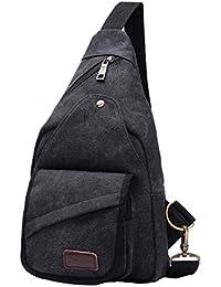 c6408575f0f77 Schulter-Rucksack Wasserdicht Outdoor Sports Crossbody Sling Tasche mit  Casual Leicht-Style für Herren