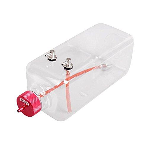 Transparent Kunststoff Fuel Treibstoff Tank Oil Fässer Öltank mit Metallkappe für RC Flugzeug - 1000ml