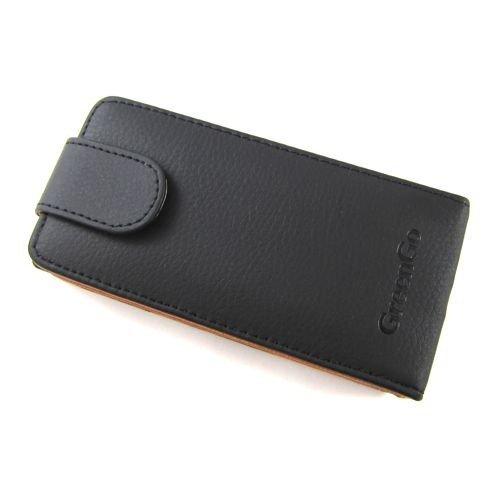 Flip Case Handytasche zu Sony Xperia P / LT22i - PREMIUM #G1 Schwarz - Schutz-Hülle, Klapp-Tasche