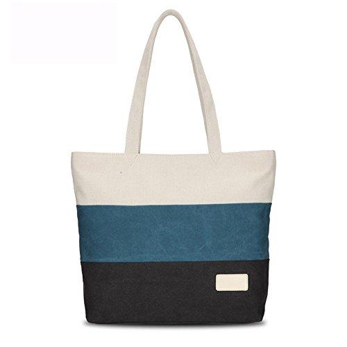 Damenmode Segeltuchtasche Strandtasche Schultertasche Handtasche Messenger bag 3