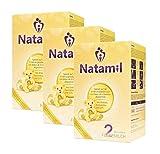 Natamil 2 Folgemilch, ab 6 Monate, 3er Pack (3 x 800 g) (3er-Pack (2,4 kg))